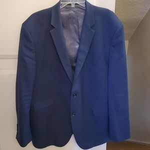 Mens blue suit jacket Perry Ellis Portfolio